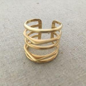 Stella & Dot Maylee Ring Gold S/M